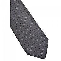 [해외]DOLCE & GABBANA Logo and Squares Tie Dark Brown