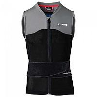 [해외]ATOMIC Live Shield Vest Amid Black / Grey