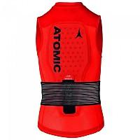 [해외]ATOMIC Live Shield Vest JR Red