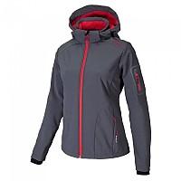 [해외]CMP Jacket Zip Hood Grey / Campari