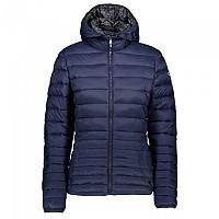 [해외]CMP Woman Jacket Zip Hood Black Blue