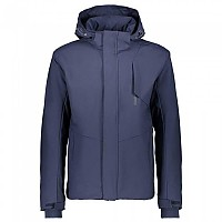 [해외]CMP Man Jacket Zip Hood Black Blue