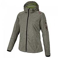 [해외]CMP Jacket Zip Hood Melange Black Olive Melange / Olive