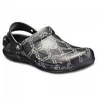 [해외]크록스 Bistro Graphic Clog Black / Smoke