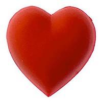 [해외]JIBBITZ heart Red