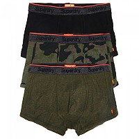 [해외]슈퍼드라이 Orange Label Trunk Triple Pack Worn ´Sd´ Camo / Khaki Grit / Blck