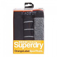 [해외]슈퍼드라이 Orange Label Sport Trunk Triple Pack Black / Black Grindle / Black Grindle