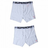 [해외]슈퍼드라이 Sport Boxer Double Pack Optic / Optic