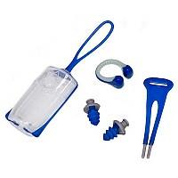 [해외]아쿠아스피어 Nose Clip/Ear Plug Combo Blue