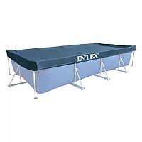 [해외]인텍스 Rectangular Pool Cover Blue