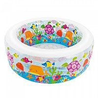 [해외]인텍스 Inflatable Aquarium Swimming Pool Clear / Multicolor