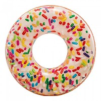 [해외]인텍스 Inflatable Coloured Donut Multi
