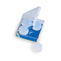 [해외]조그스 Silicone Ear Plugs Clear
