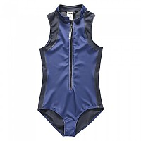[해외]슈퍼드라이 Aqua Sport Hi Collar Swimsuit Navy
