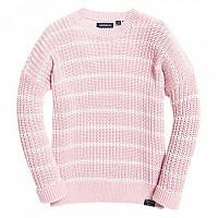 [해외]슈퍼드라이 Elsie Slouch Crew Knit Soft Pink
