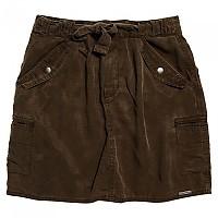 [해외]슈퍼드라이 Tencel Tie Utility Skirt Urban Khaki