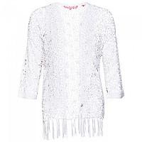 [해외]슈퍼드라이 Sunset Crochet Kimono Liner White