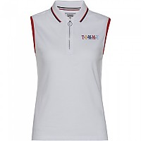 [해외]타미힐피거 Sleeveless Polo Classic White