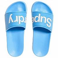 [해외]슈퍼드라이 Eva Pool Slide Seafoam Blue