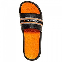 [해외]슈퍼드라이 Crewe International Slide Black / Charcoal / Hazard Orange