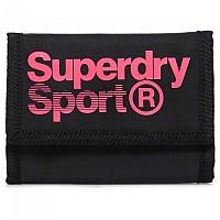 [해외]슈퍼드라이 Sport Stadium SML Logo Black / Fluor Pink