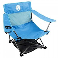 [해외]COLEMAN Folding Chair Low Quad Blue