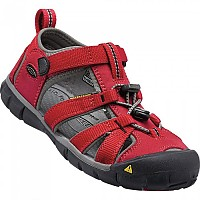 [해외]KEEN Seacamp II CNX Youth Racing Red / Gargoyle