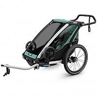 [해외]툴레 Chariot Lite 1 Blue Grass / Black