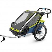 [해외]툴레 Chariot Sport 2 Lime / Blue