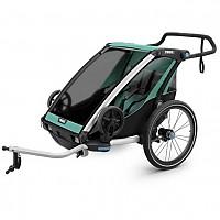 [해외]툴레 Chariot Lite 2 Blue Grass / Black