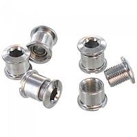 [해외]VAR Chain Rings 5 Units Silver