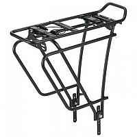 [해외]XLC Aluminium Luggage Carrier RP R10 Black / With Saddle Bag Straps
