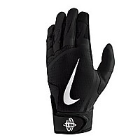 [해외]나이키 ACCESSORIES Huarache Edge Batting Gloves Black / Black / White