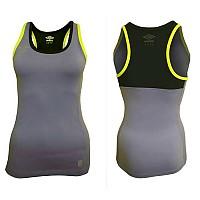 [해외]엄브로 탱크 탑 Woman Purple Hebe / Black / Safety Yellow
