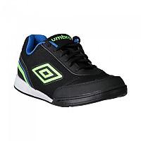 [해외]엄브로 Futsal Street V Black / Green Gecko / Electric Blue