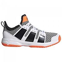 [해외]아디다스 Stabil Ftwr White / Core Black / Solar Orange