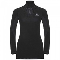 [해외]오들로 Performance Warm SUW Top Turtle Neck 1/2 Zip Black / Odlo Concrete Grey