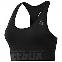 [해외]리복 Workout Ready Meet You There Seamless Padded Black