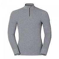 [해외]오들로 Shirt L/S Turtle Neck 1/2 Zip Warm Grey Melange