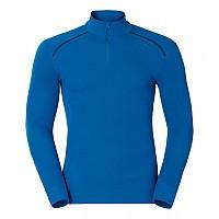 [해외]오들로 Shirt L/S Turtle Neck 1/2 Zip Warm Directoire Blue