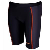 [해외]ZONE3 Adventure Tri Shorts Black / Hi-Vis Orange