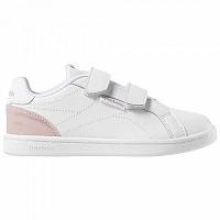 [해외]리복 Royal Complete Clean 2V Kids New Metallic / White / Pink