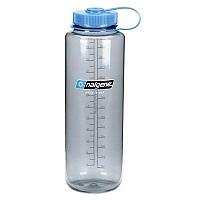 [해외]날진 Wide Mouth Bottle 1.5L Gray / Loop-Top Blue