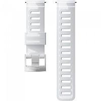 [해외]순토 24mm Dive 1 Silicone Strap White / Steel