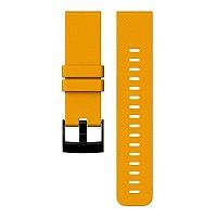 [해외]순토 Traverse Amber Silicone Strap Amber