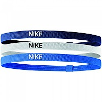 [해외]나이키 ACCESSORIES Elastic Hairbands 3 Units Blue / White / Blue