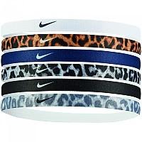 [해외]나이키 ACCESSORIES Printed Headbands 6 Units White / Godlen / Blue