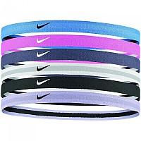 [해외]나이키 ACCESSORIES Swoosh Sport Headbands 6 Units 2.0 Blue / Pink / Purple