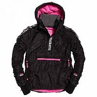 [해외]슈퍼드라이 Sport Cagoule Black Camo / Fluro Pink