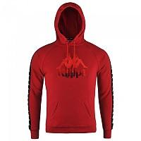 [해외]KAPPA Hurtado Authentic Hoodie Red Dark / Black / White